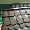 Dark Chocolate Cat Biscuits   #blackcatday   Sarah Irving   Susty Meals