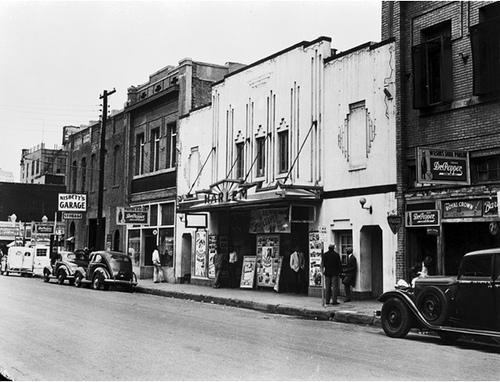 Old Harlem Movie Theatre Deep Ellum