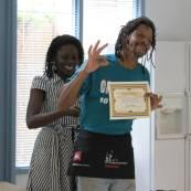Vendor apron & Certificate