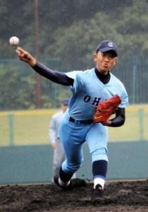 小川投手 投球