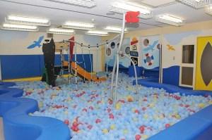 三ケ島幼稚園ボールプール