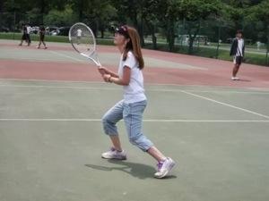 佐藤真知子テニス