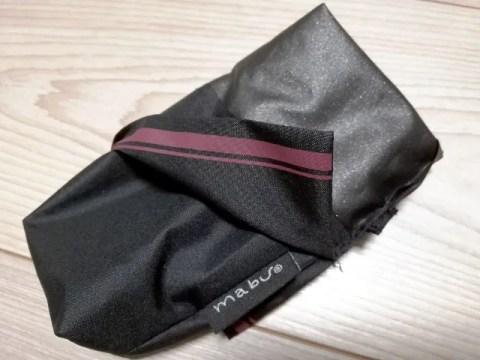mabuの傘の下地材は傘の生地を同じもの