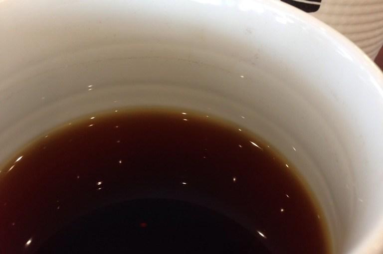 ドトールのラズベリー香るコーヒー