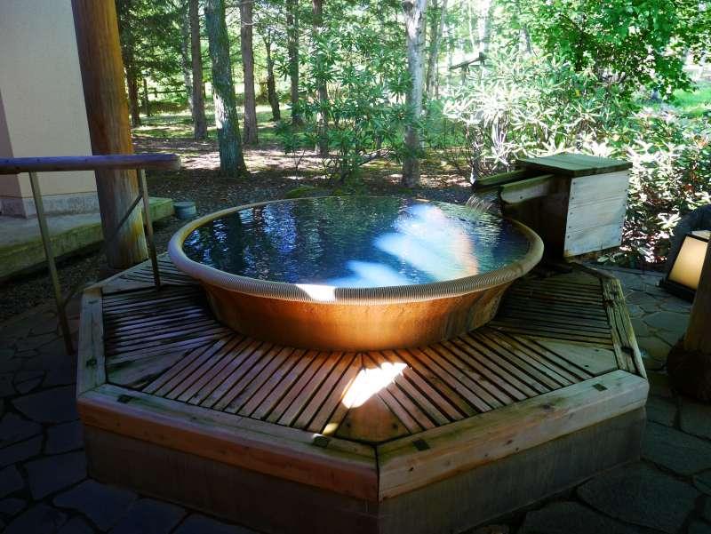 つたや季の宿風里 温泉大浴場 露天風呂