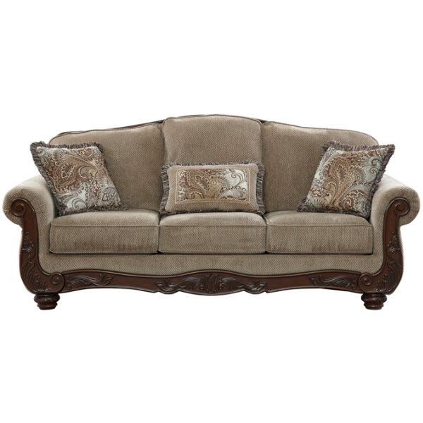Signature Design By Ashley 5730038 Sofa Martinsburg In Meadow At Sutherlands