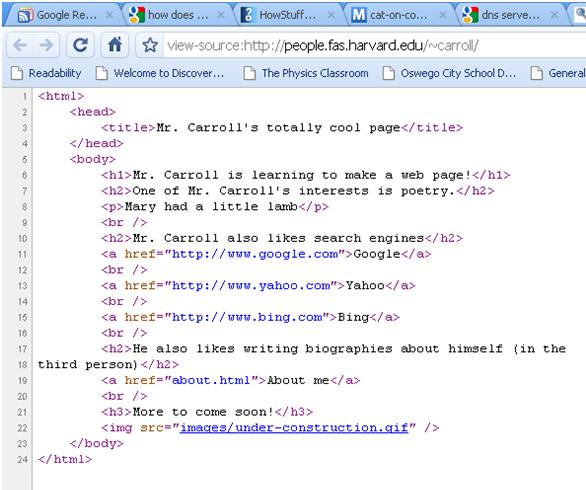 Assignment 4: Making websites with HTML | TechnoSmart Class