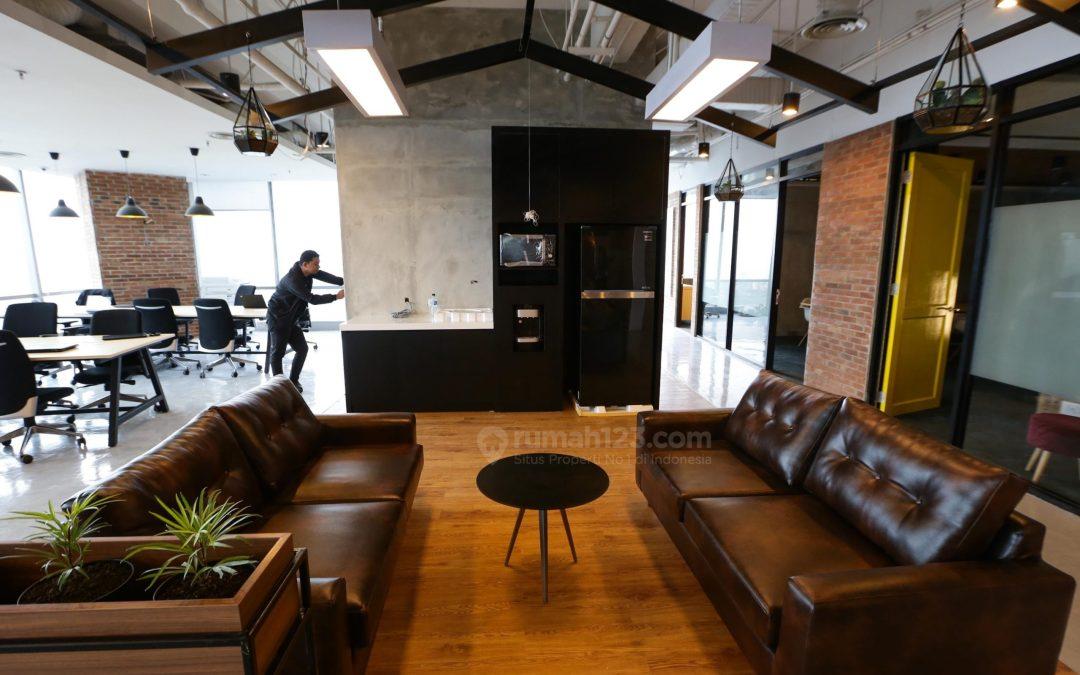 sutomotower - desain ruang kantor ala rumahan