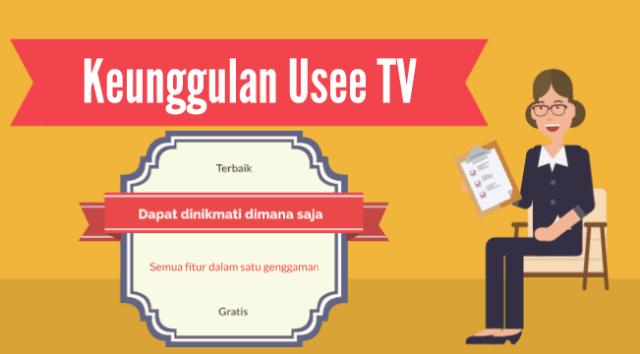 Keunggulan UseeTV