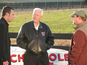 James Suttles on the music video Carolina Moonshine with NASCAR legend Junior Johnson