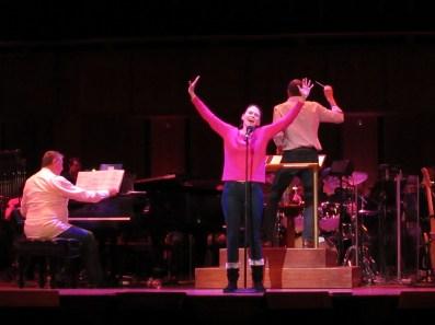 Rehearsal - NSO Pops: Sutton Foster / Steven Reineke (Nov. 14, Washington DC) - Photo credit Jeanne BL