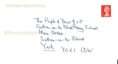 David Attenborough letter 3
