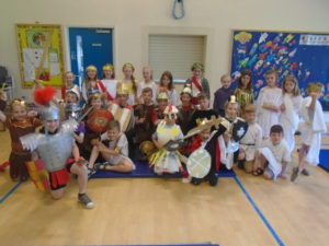 Year 2/3 Roman Day