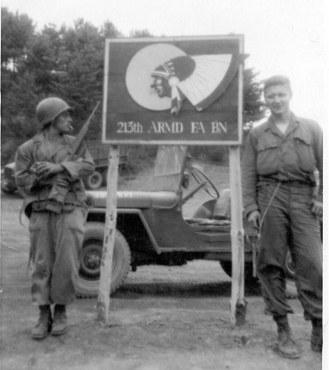 213th Field Artillery Battalion Sign