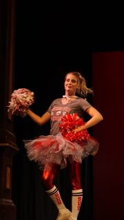 Emily Johnson during spirit wear.