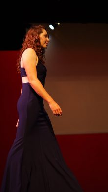 Katie Wills during the pageant wear.
