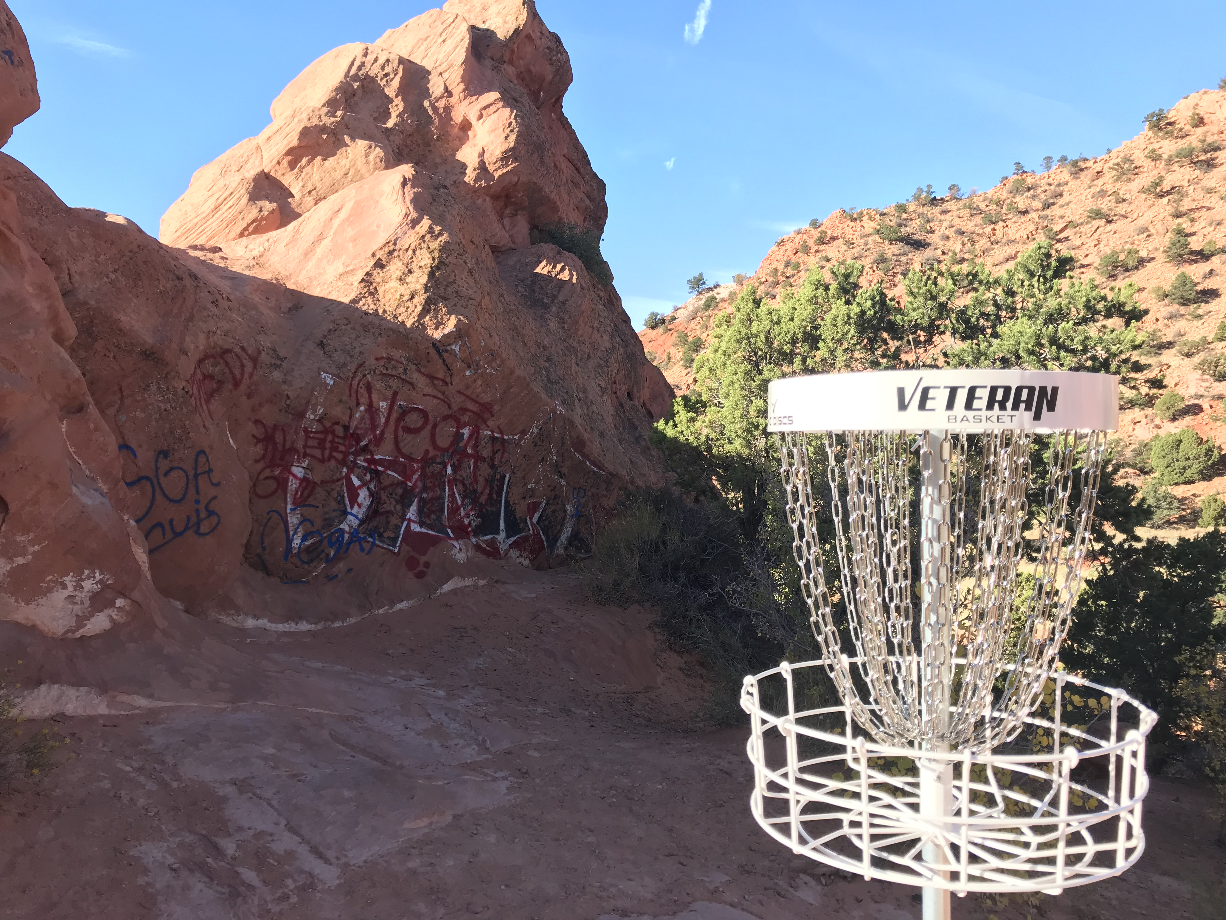 New Disc Golf Course at Thunderbird Gardens - SUU News