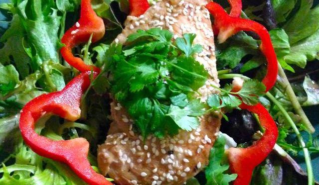 Salaatti nro 75 – Korealainen kanasalaatti