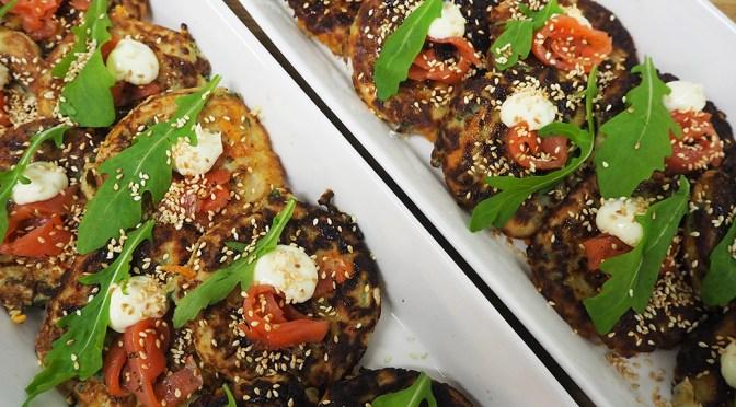Okonomiyaki eli japanilainen kasvispannari