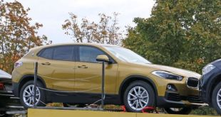 2018 BMW X2 front