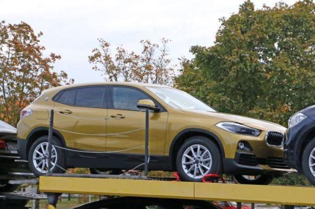 2018 BMW X2 front