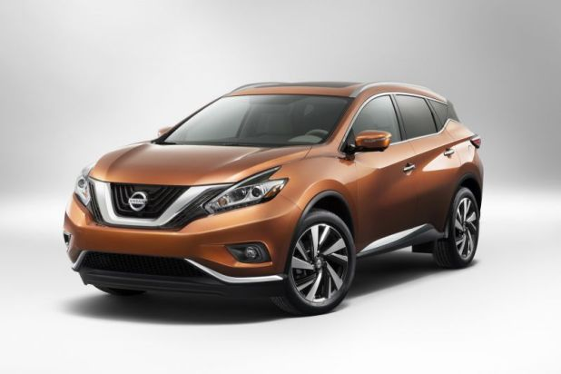 2018 Nissan Murano front