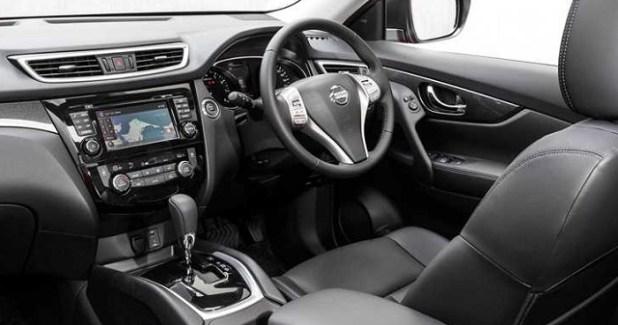 2018 Nissan X-Trail TL Diesel SUV interior