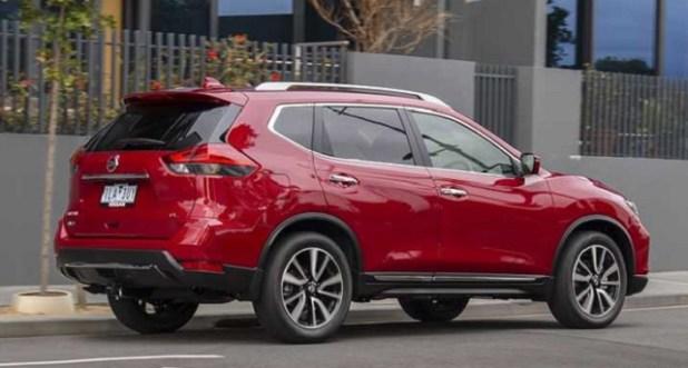 2018 Nissan X-Trail TL Diesel SUV rear view