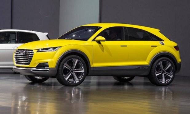 2019 Audi Q4 side view