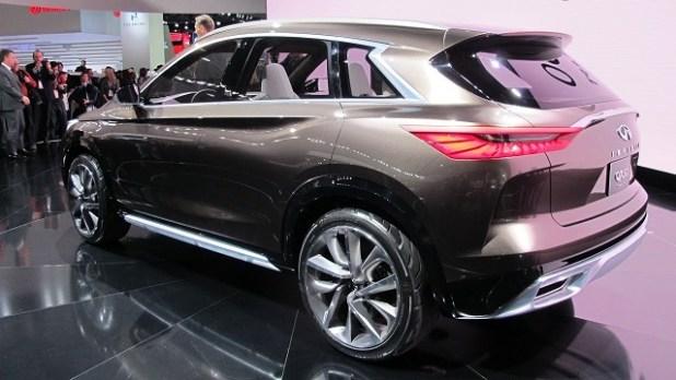 2019 Infiniti QX50 rear view