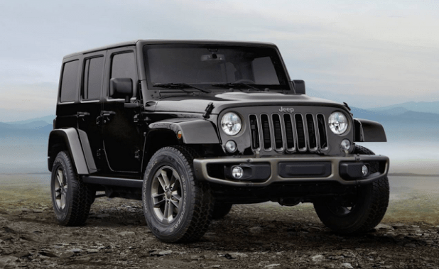 2019 Jeep Wrangler SUV front view