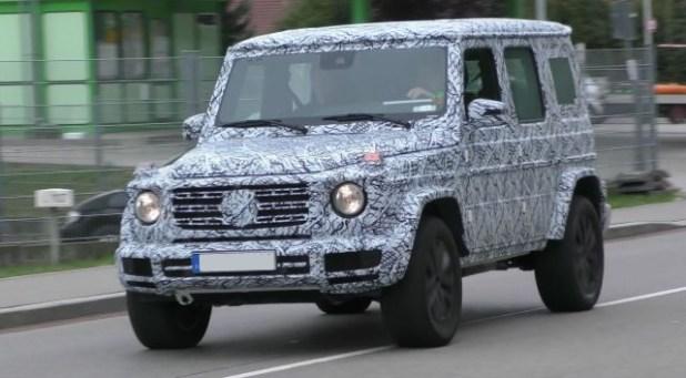 2019 Mercedes Benz G-Class front
