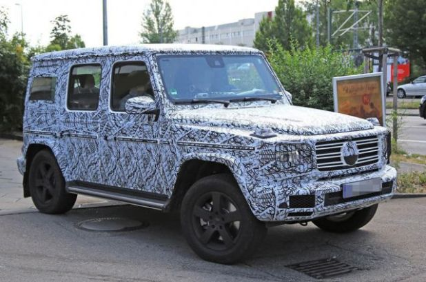 2019 Mercedes Benz G-Class side
