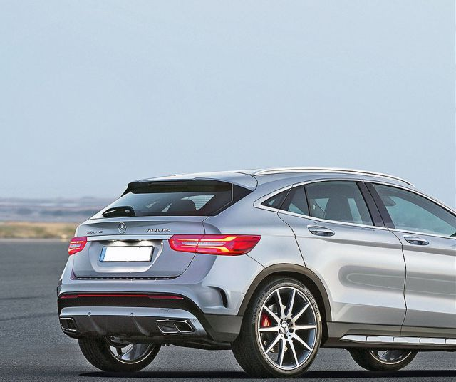 2019 Mercedes-Benz GLA rear - 2019 and 2020 New SUV Models