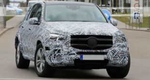 2019 Mercedes-Benz GLE front