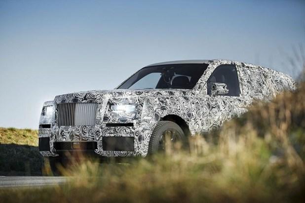 2019 Rolls-Royce Project Cullinan