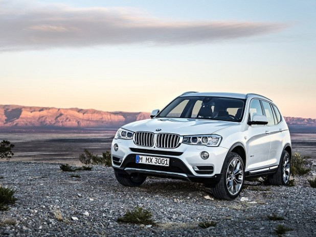 2019 bmw x3 front view