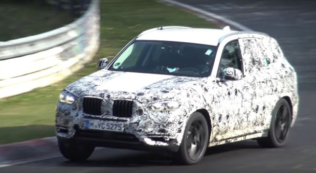 2019 bmw x3 spy shots