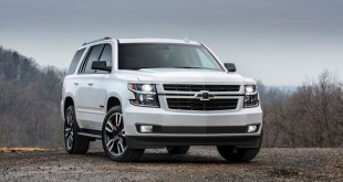 2019 chevy tahoe front view