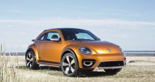 2019 VW Beetle SUV front