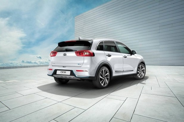 2018 Kia Niro Plug-In Hybrid rear view