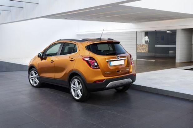 2018 Opel Mokka X rear