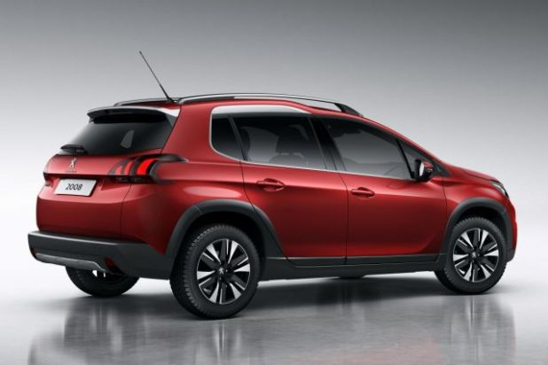 2018 Peugeot 2008 rear