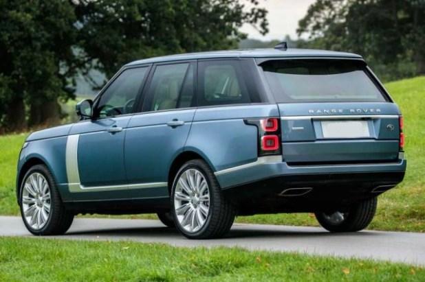 2018 Range Rover Vogue rear