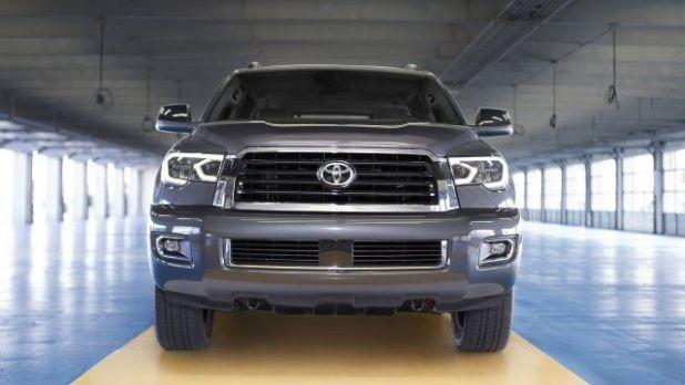 2018 Toyota Sequoia TRD Sport front
