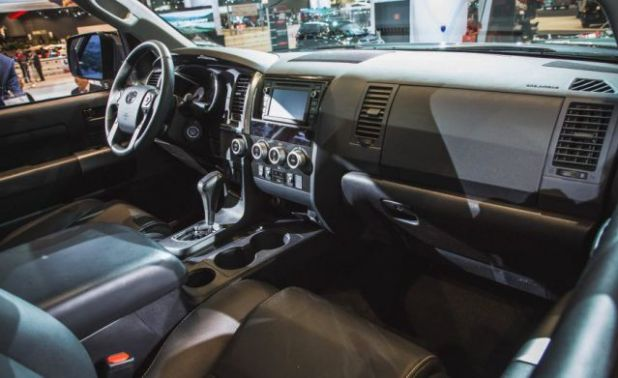 2018 Toyota Sequoia TRD Sport interior