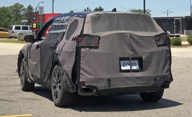 2019 Acura RDX spy