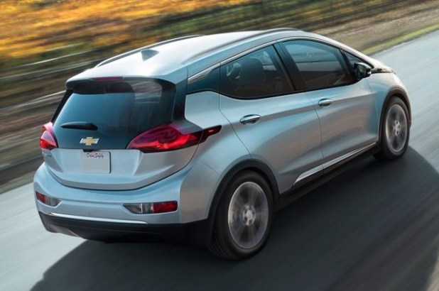 2019 Chevy Bolt Electric SUV rear