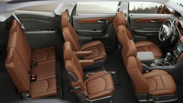 2019 Chevy Traverse interior - 2020, 2021 and 2022 New SUV ...