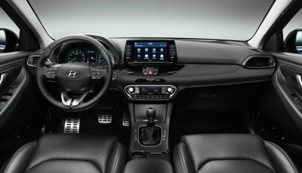 2019 Hyundai Kona Electric SUV interior